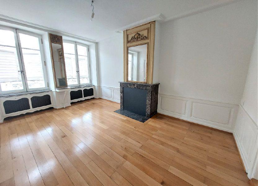 Appartement à louer 89.74m2 à Strasbourg