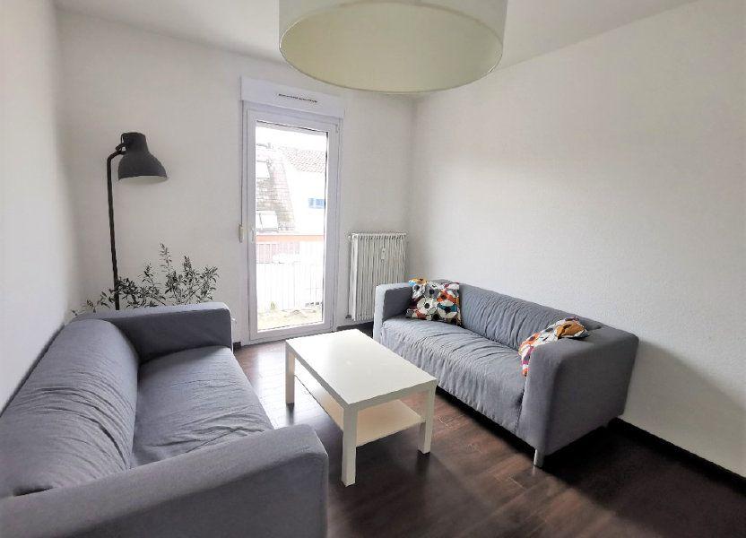 Appartement à louer 61.37m2 à Strasbourg
