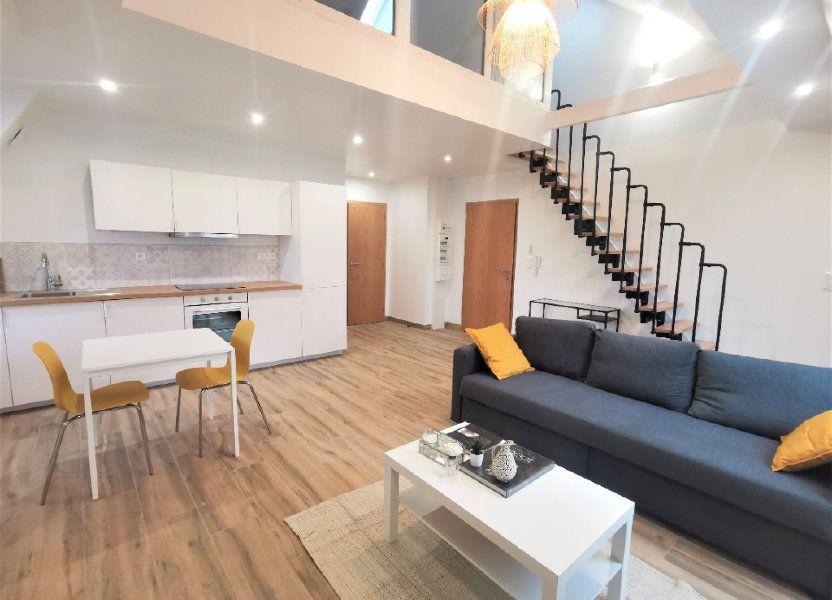Appartement à louer 45.56m2 à Strasbourg