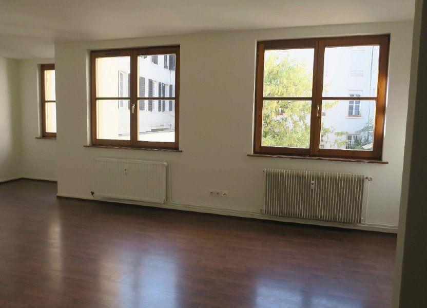 Appartement à louer 87.7m2 à Strasbourg