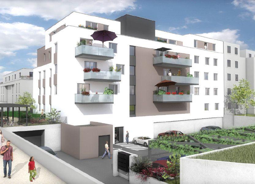 Appartement à vendre 54.21m2 à Pfastatt