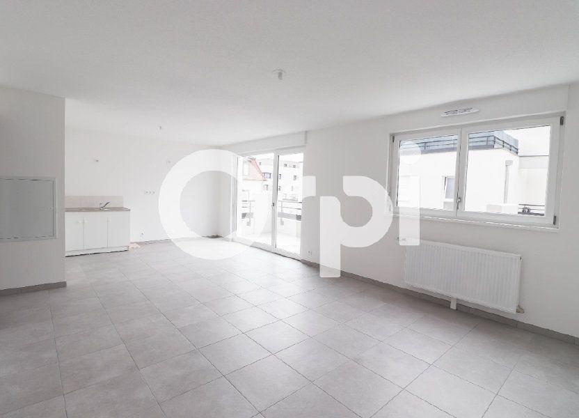 Appartement à louer 54.1m2 à Saint-Louis