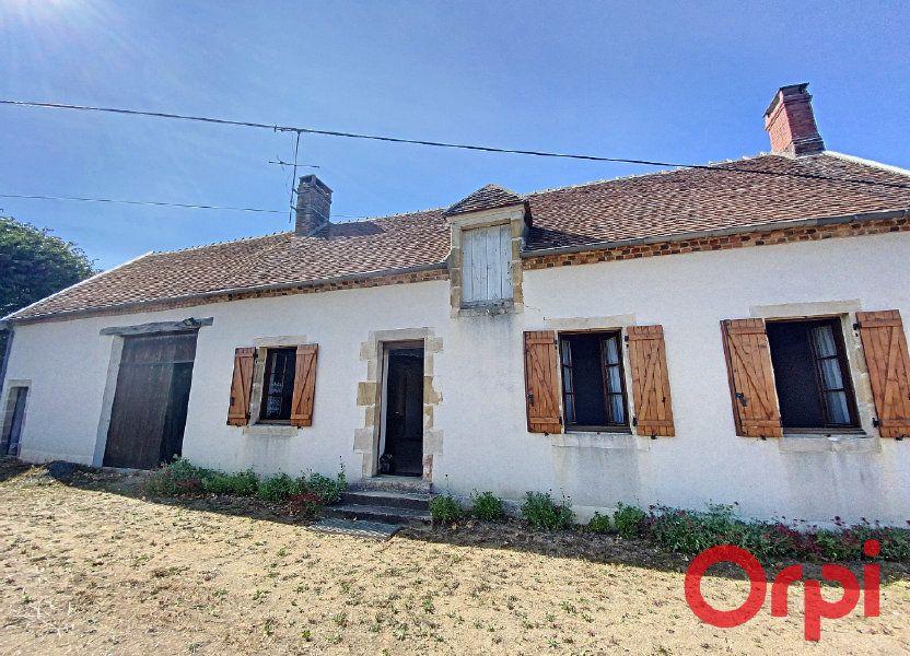 Maison à vendre 92.2m2 à Meaulne