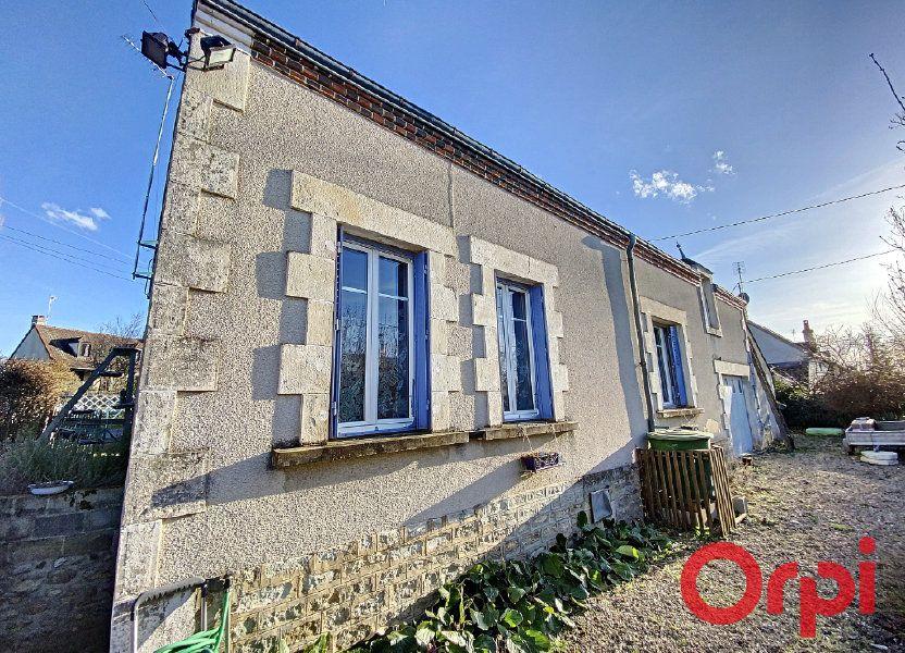 Maison à vendre 58.7m2 à Châteaumeillant