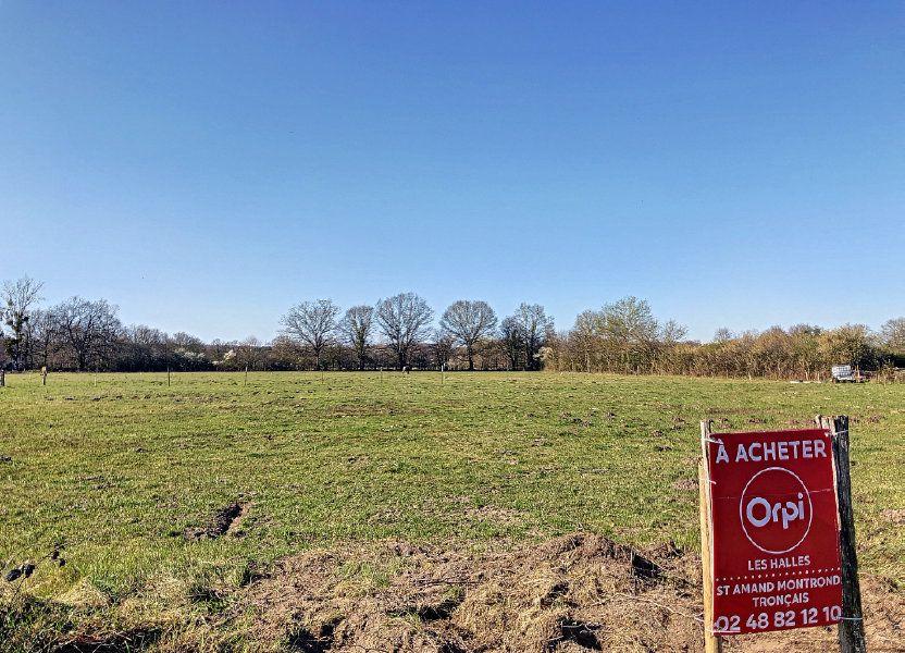 Terrain à vendre 2059m2 à Charenton-du-Cher