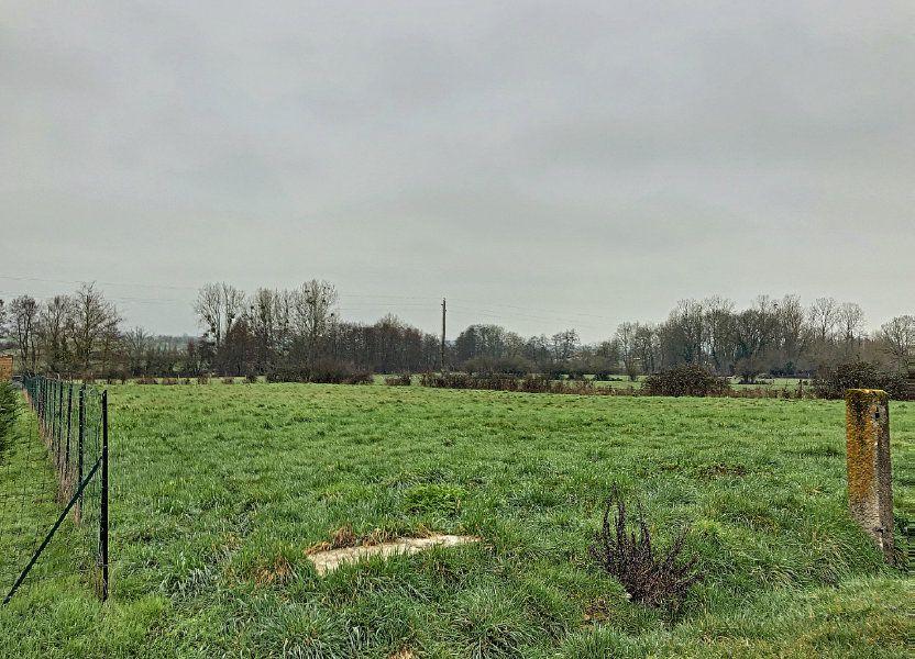 Terrain à vendre 1738m2 à Charenton-du-Cher