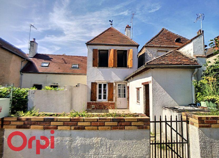 Maison à vendre 116m2 à Bessais-le-Fromental