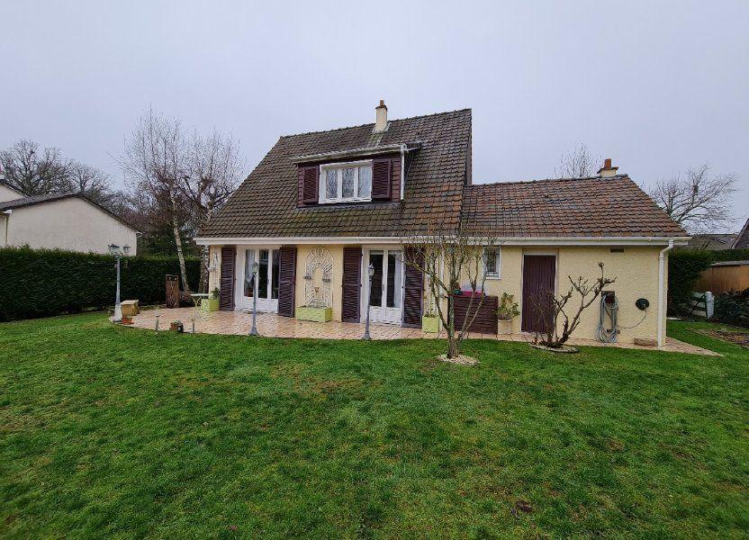 Maison à vendre 116m2 à Saint-Fargeau-Ponthierry