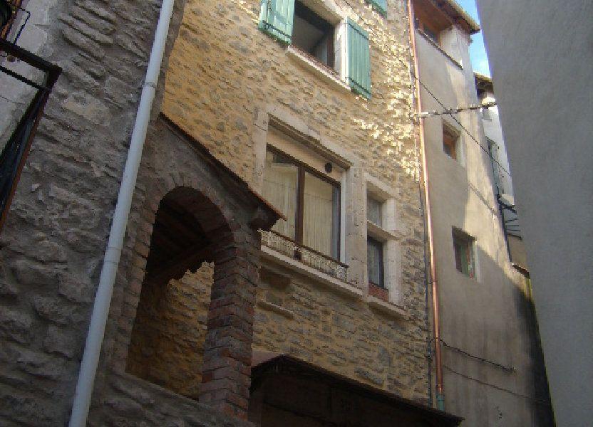 Appartement à louer 26.35m2 à Saint-Ambroix