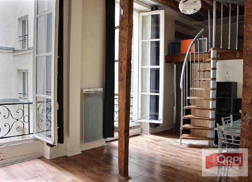 Appartement à vendre 30m2 à Paris 3