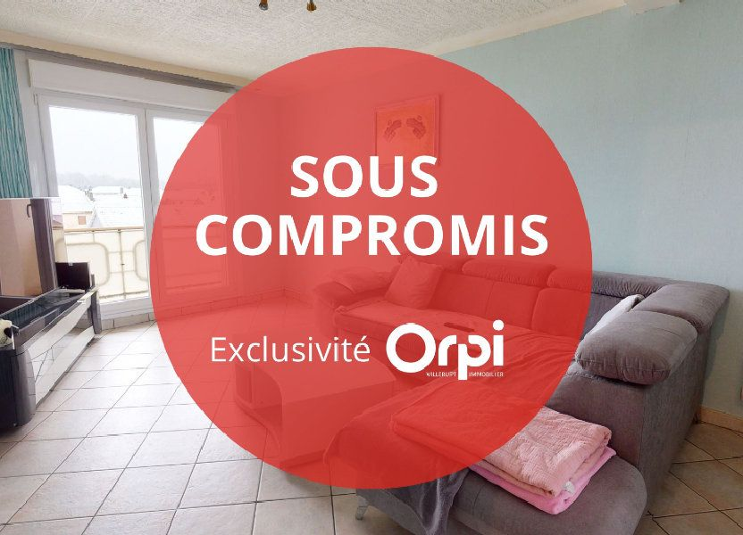 Appartement à vendre 58m2 à Villerupt