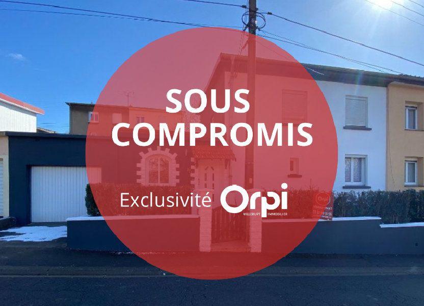 Maison à vendre 90m2 à Villerupt