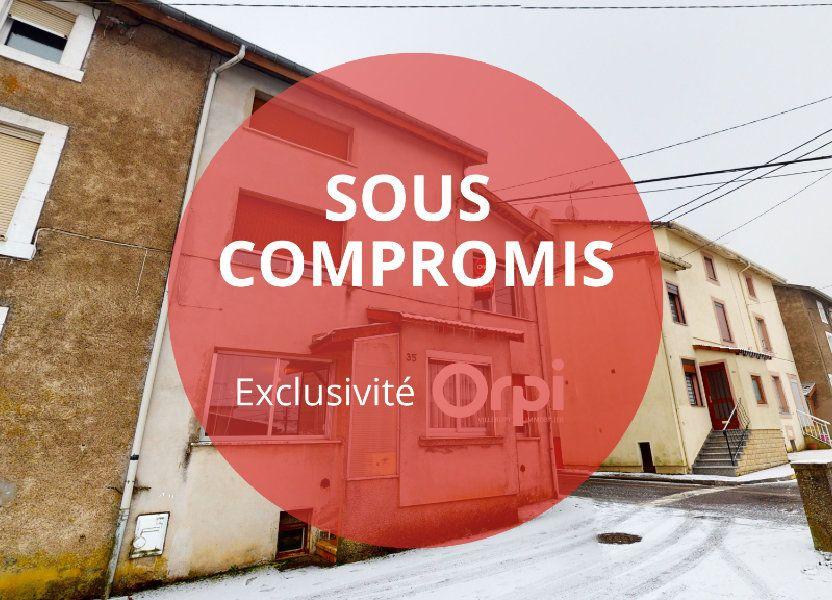 Maison à vendre 66m2 à Villerupt