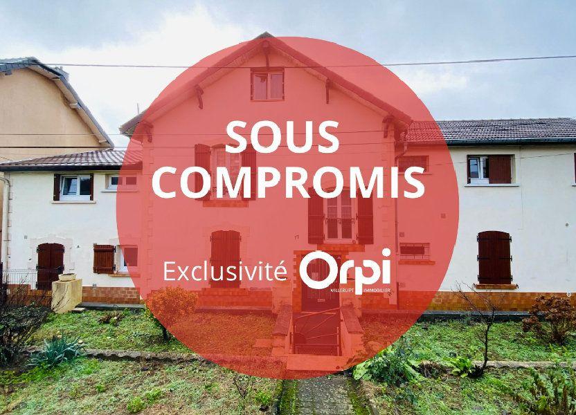 Immeuble à vendre 385m2 à Mont-Saint-Martin