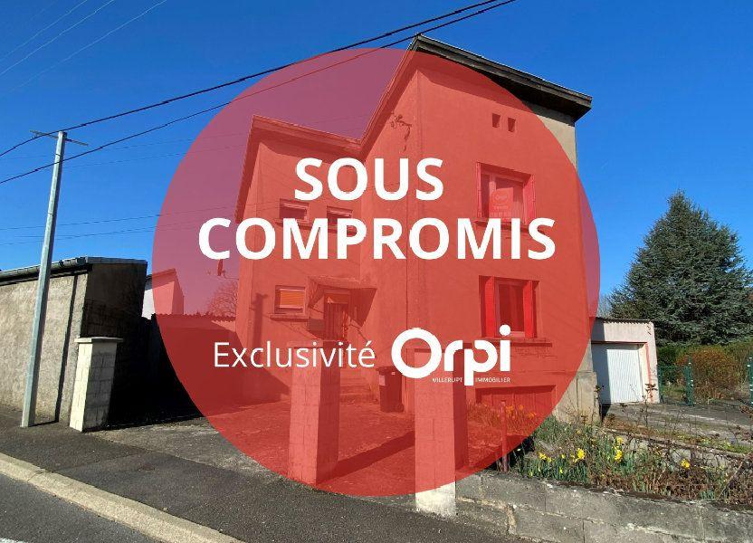 Maison à vendre 75m2 à Villerupt