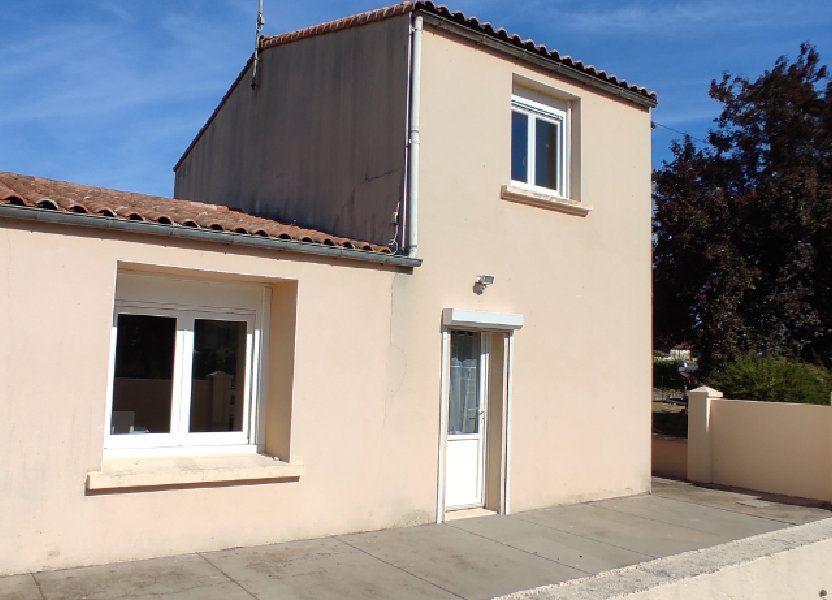 Maison à vendre 77m2 à Saint-Nazaire-sur-Charente