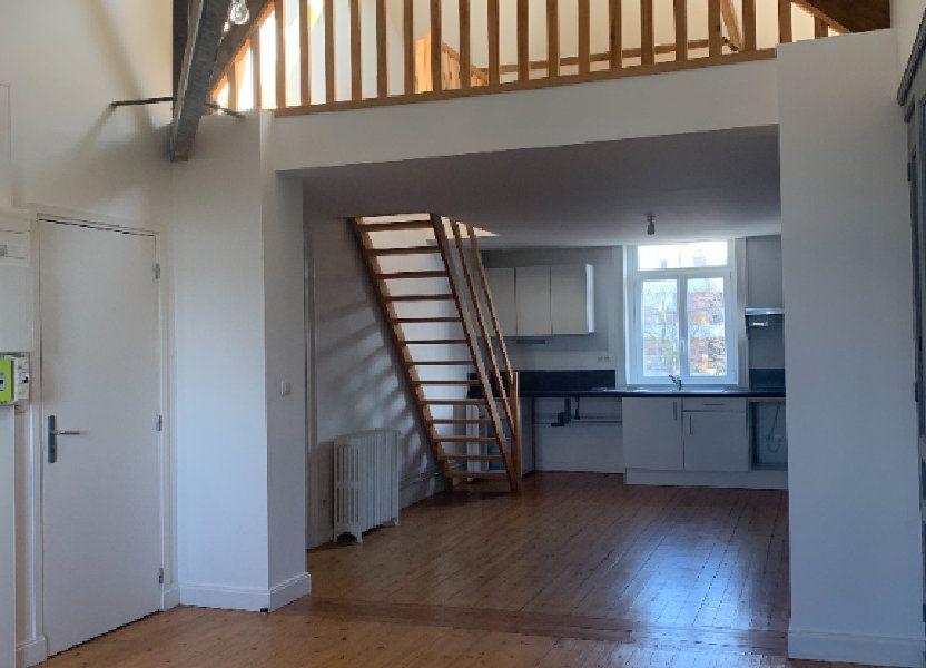 Appartement à louer 46m2 à Faches-Thumesnil