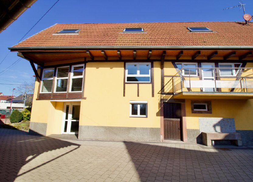 Appartement à vendre 110.69m2 à La Wantzenau