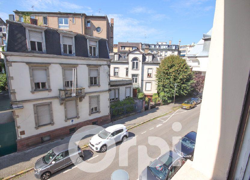 Appartement à vendre 52.77m2 à Strasbourg