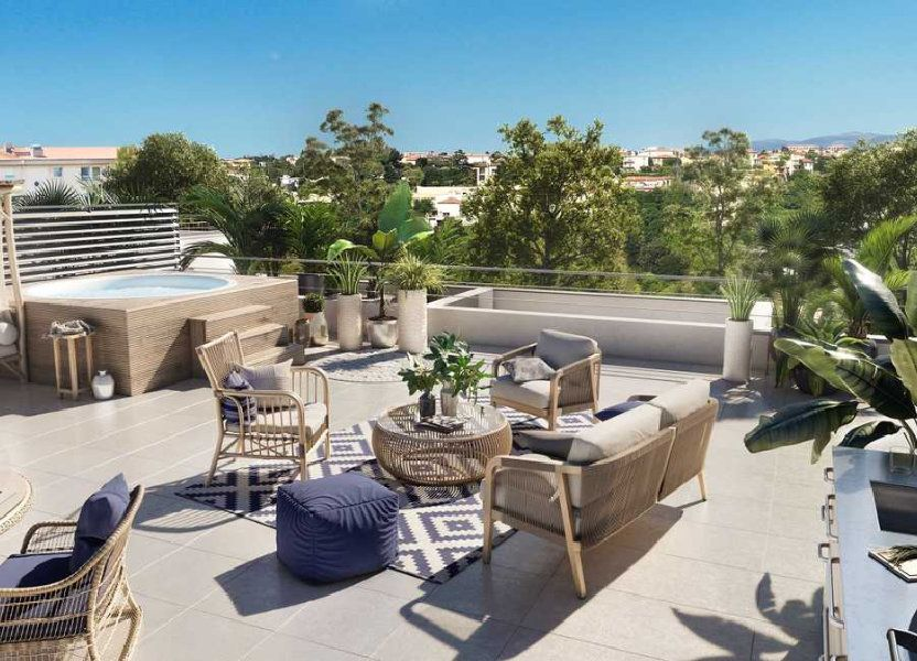 Appartement à vendre 35.7m2 à Antibes