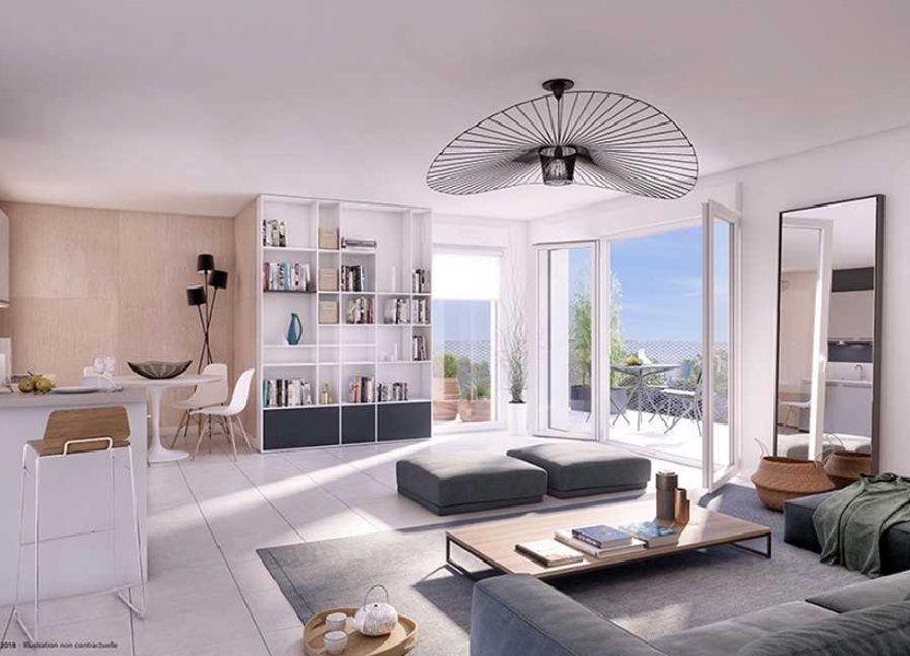Appartement à vendre 57.5m2 à Nice