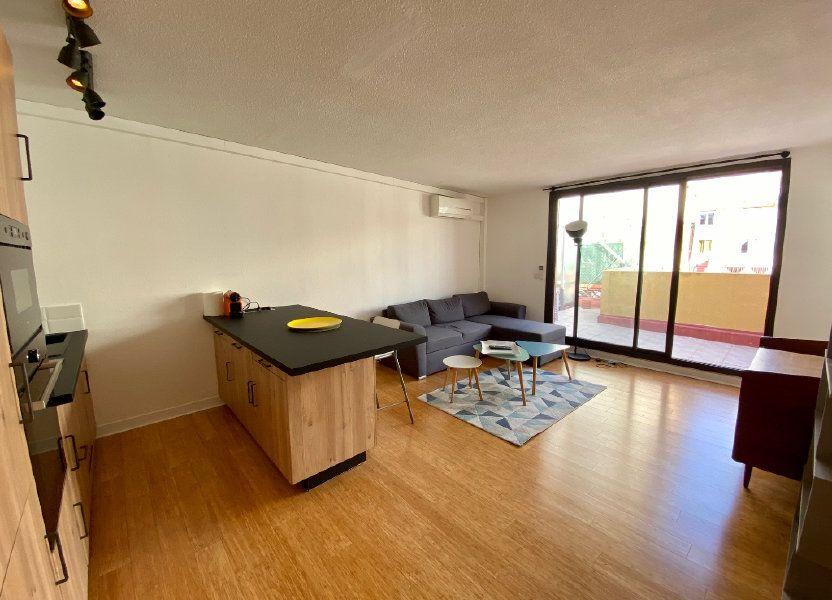 Appartement à louer 44.37m2 à Nice