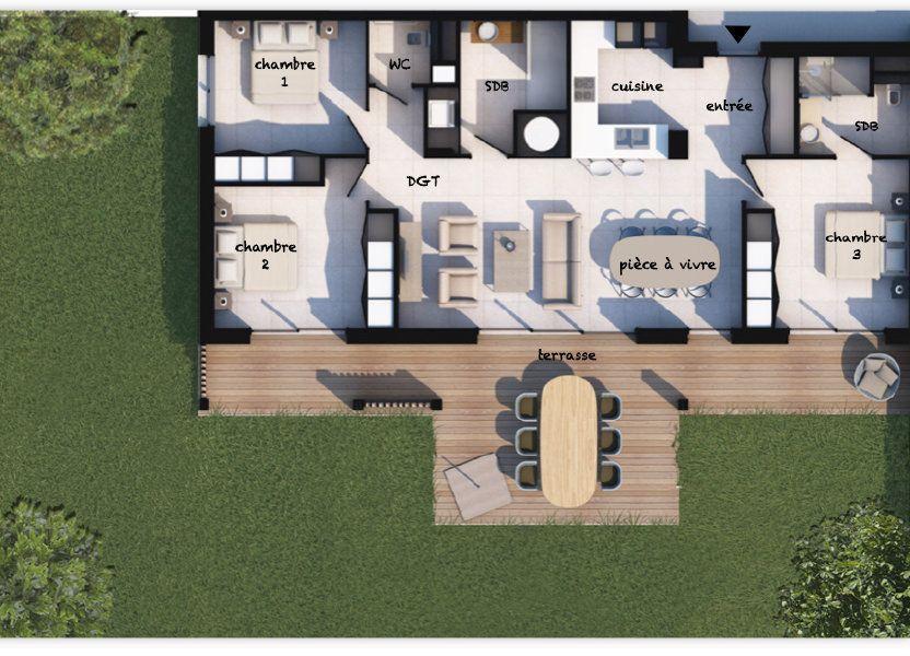 Appartement à vendre 92.94m2 à Porto-Vecchio