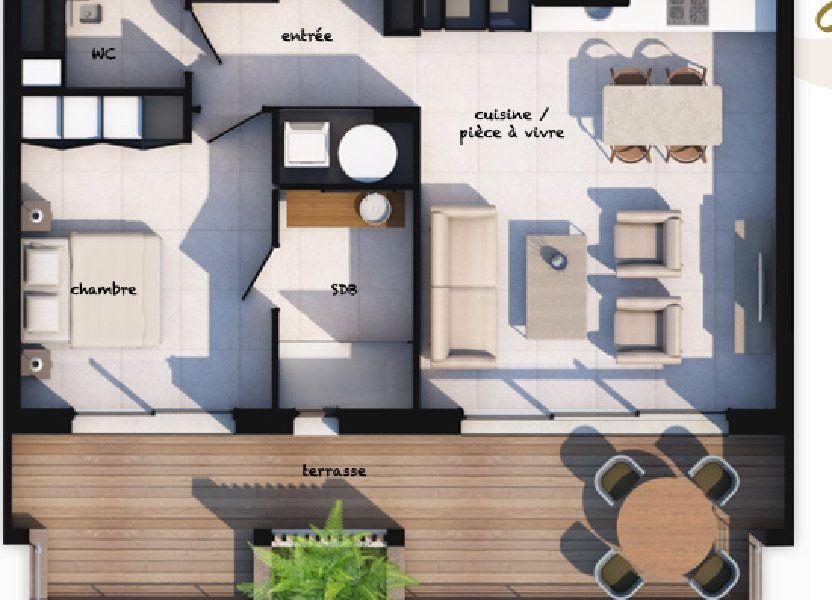 Appartement à vendre 55.66m2 à Lecci
