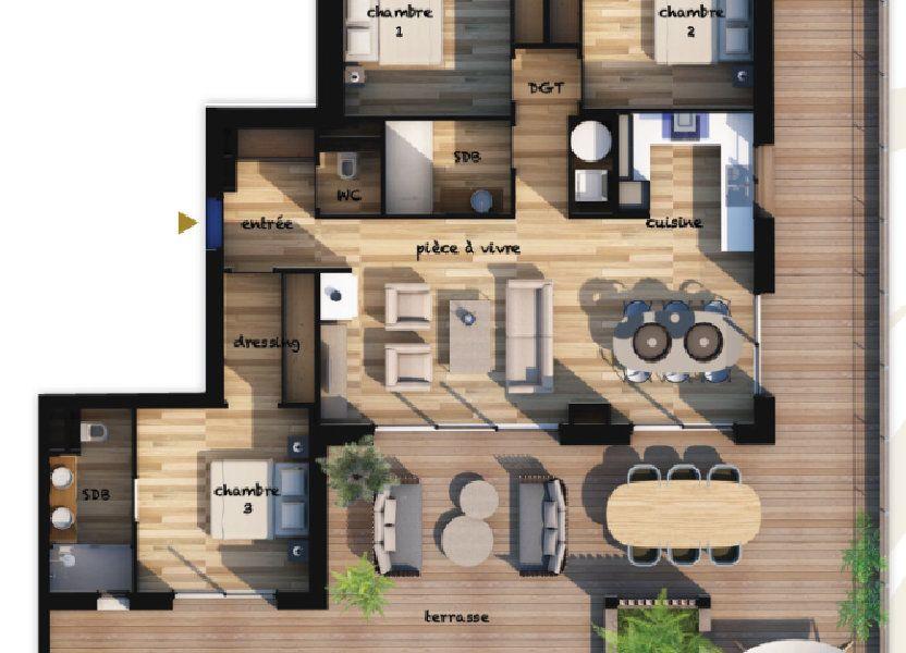 Appartement à vendre 96.95m2 à Lecci
