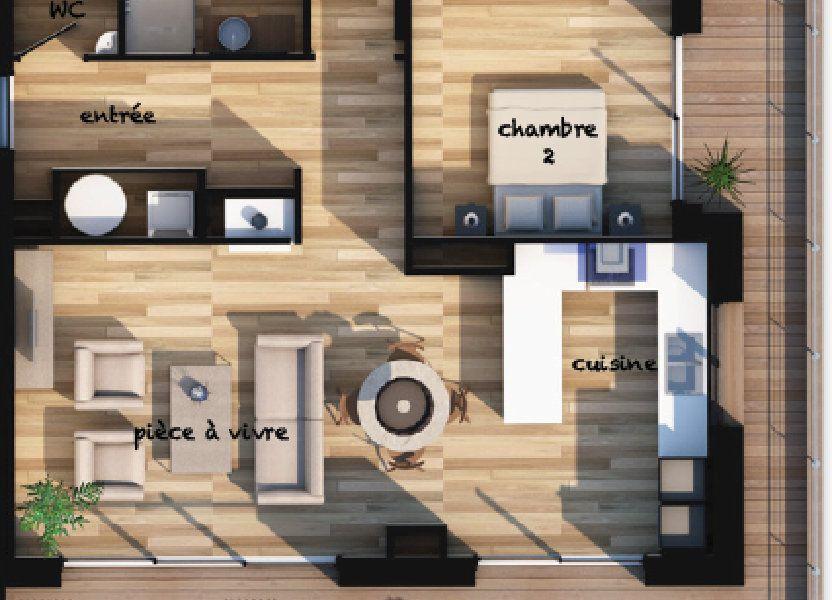 Appartement à vendre 82.77m2 à Lecci