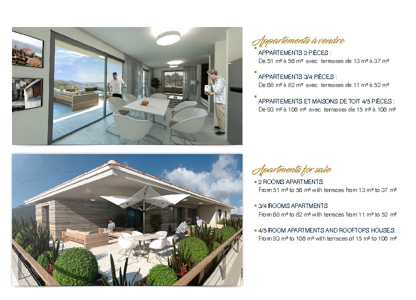 Appartement à vendre 105.77m2 à Lecci