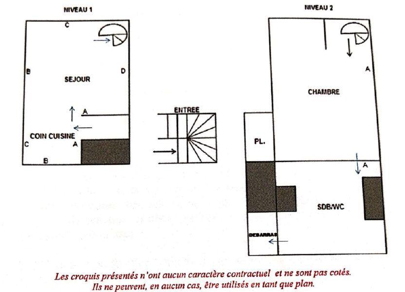 Appartement à louer 29m2 à Sèvres
