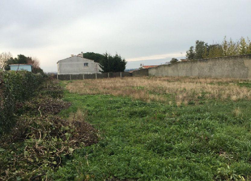 Terrain à vendre 1171m2 à Le Château-d'Oléron