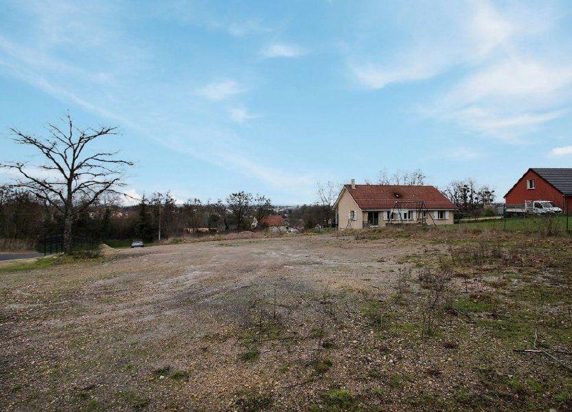 Terrain à vendre 1386m2 à Blanzy