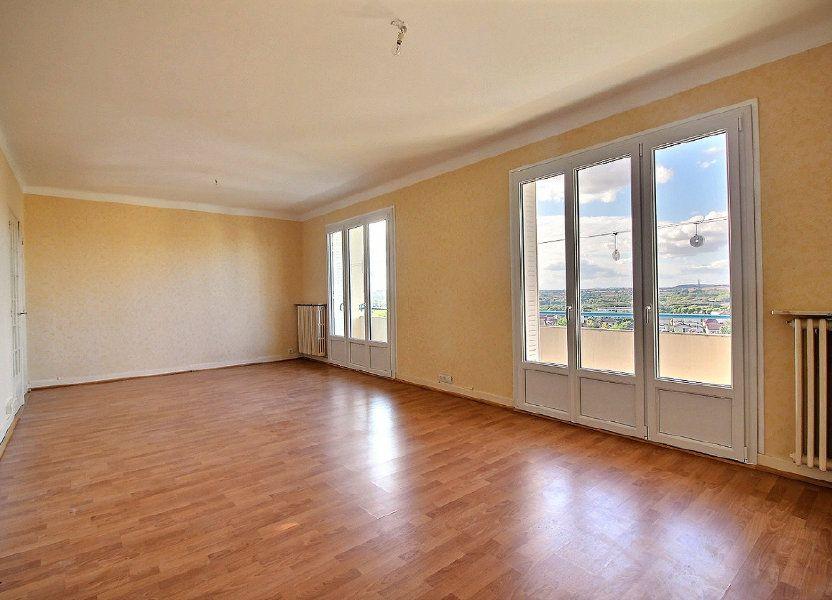 Appartement à louer 96m2 à Montceau-les-Mines