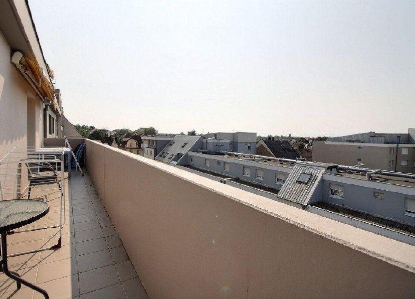 Appartement à louer 69.78m2 à Strasbourg