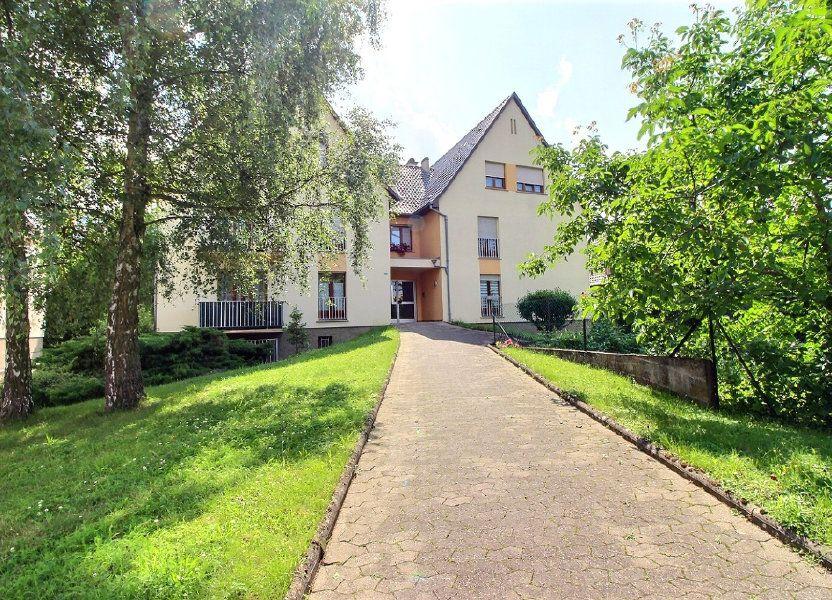 Appartement à vendre 92m2 à Strasbourg