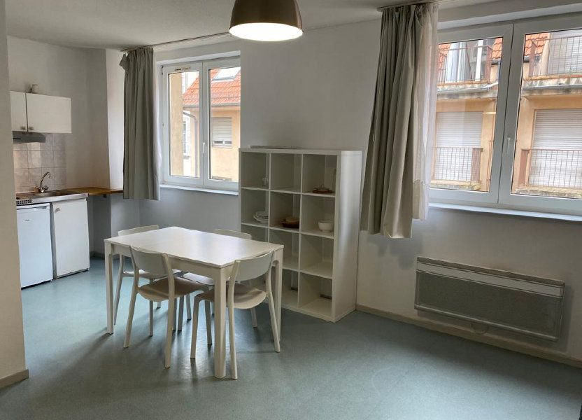 Appartement à louer 24.82m2 à Strasbourg