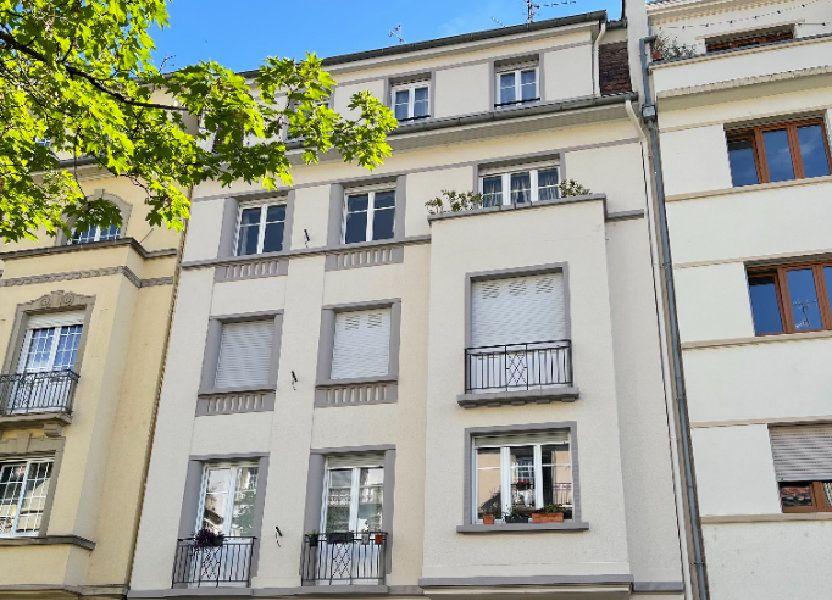 Appartement à louer 76.39m2 à Strasbourg