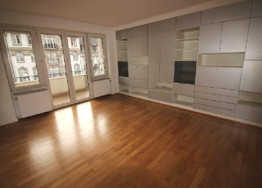 Appartement à louer 122.4m2 à Strasbourg