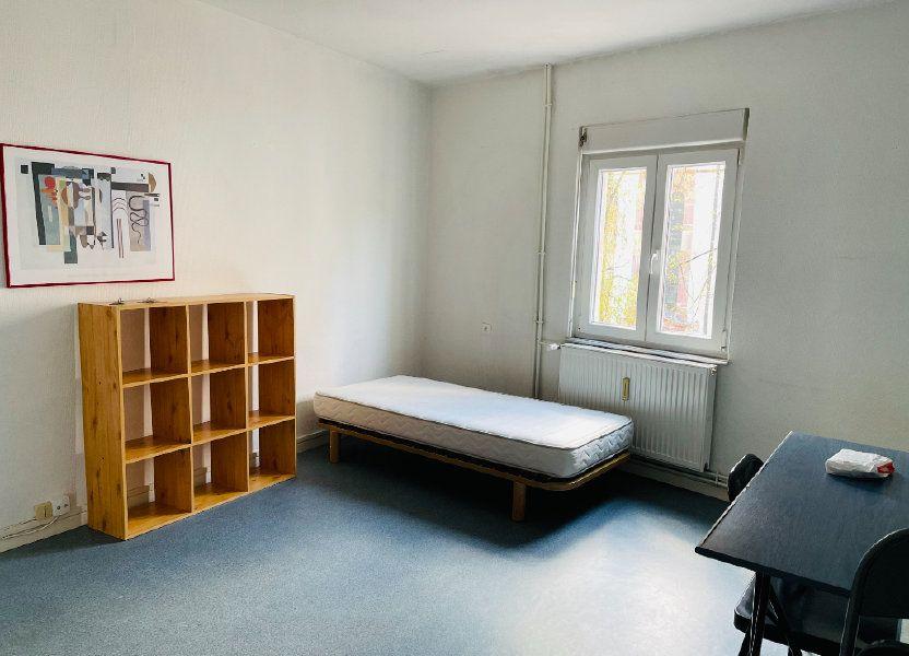 Appartement à louer 21.71m2 à Strasbourg