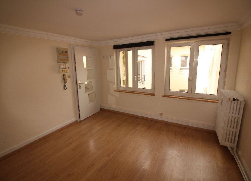Appartement à louer 27.23m2 à Strasbourg