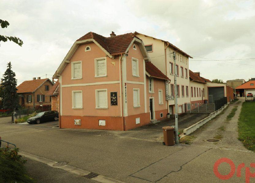 Immeuble à vendre 535m2 à Betschdorf