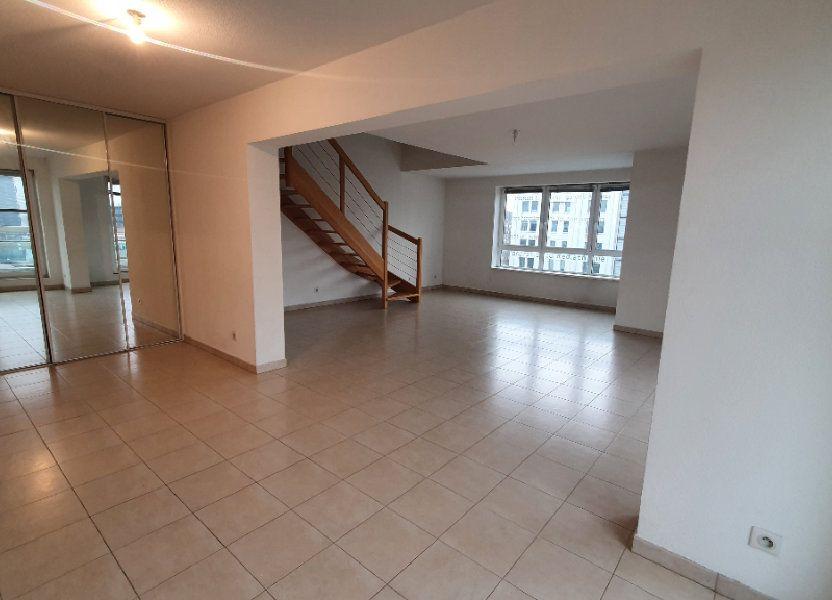 Appartement à louer 115.26m2 à Strasbourg