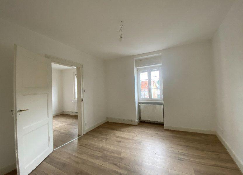 Appartement à louer 60.69m2 à Strasbourg
