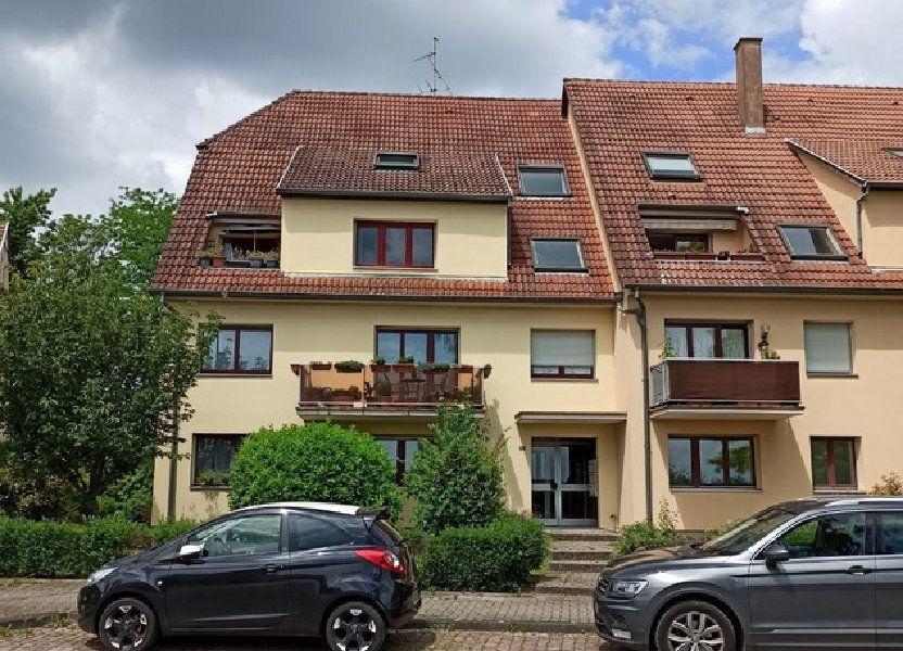 Appartement à louer 72m2 à Strasbourg