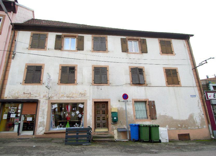 Immeuble à vendre 307m2 à Rothau