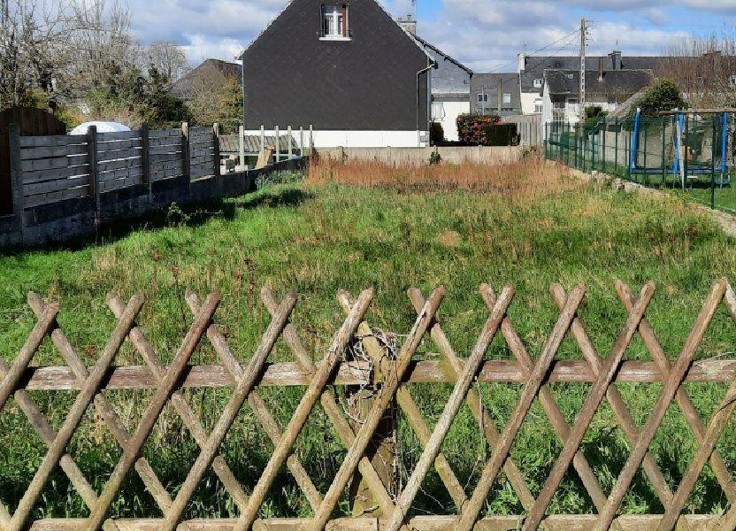Terrain à vendre 447m2 à Carhaix-Plouguer