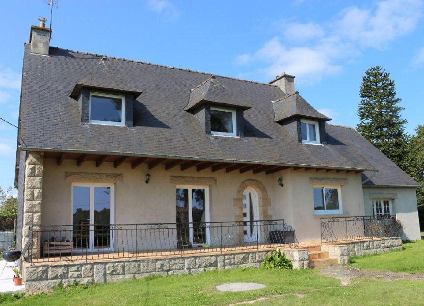 Maison à vendre 172m2 à Kergrist-Moëlou