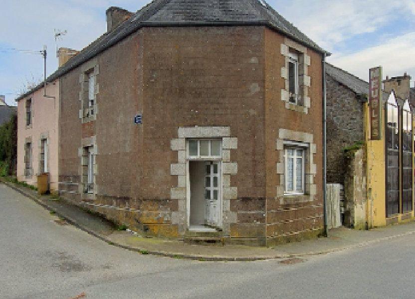Maison à vendre 59m2 à Rostrenen